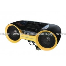 RADIO SPEED 900W USB/BLUETOOTH AMARILLA SPRPAM