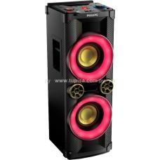 MINICOMPONENTE PHILIPS C/BLUETOOH NFC POTENCIA 900W NTX400/55 P287