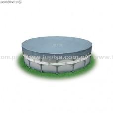 COBERTOR DE PISCINA CON ESTRUCTURA SYOPAR (5.49mts DIAMETRO) REF.28041