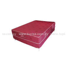 BASE C/COLCHON 120X190 STANDARD BORDO