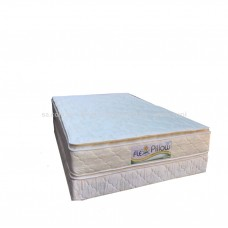 BASE CON COLCHON 140X190 FLEX PILLOW BEIGE INMAPOL